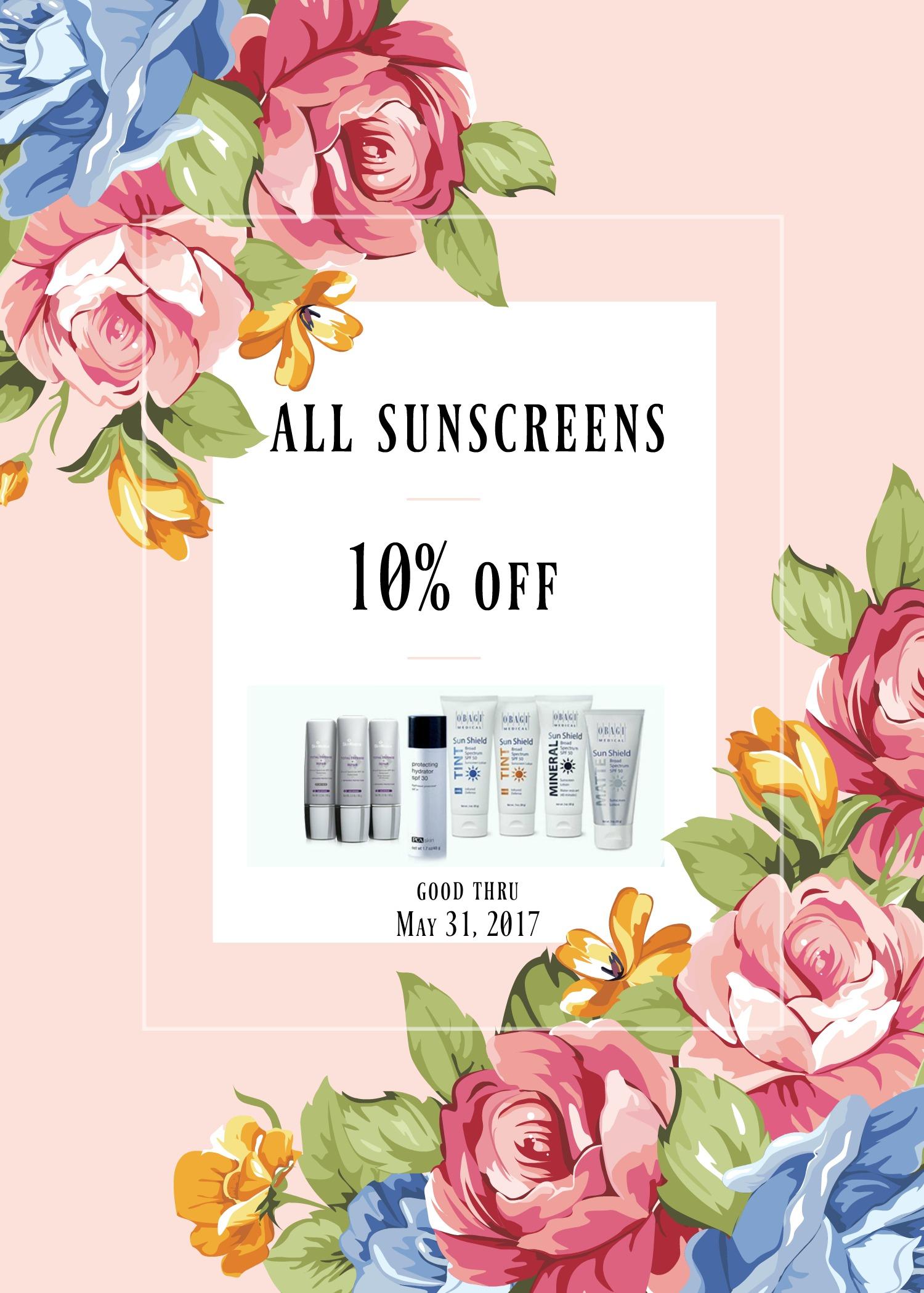 sunscreens 1